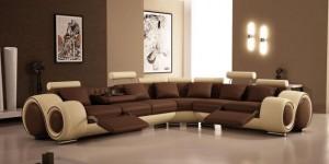 divano salone moderno